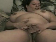 Latina milf wakeup masturbation