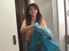 Milena Velba - Blue Dress
