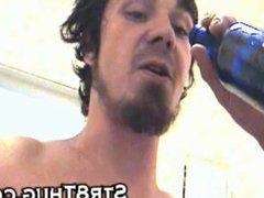Piss spit chocolate feet dick cock cum ass all in faggot slave pig mouth