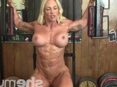 Jill Jaxsen Working Out