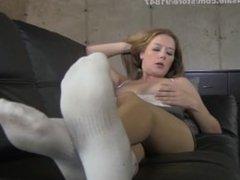 Tits vs socks