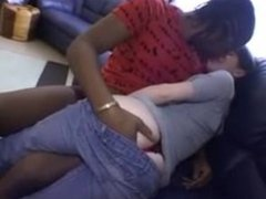 Her first interracial experience