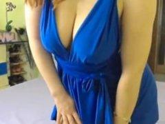 big boob redhead