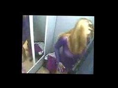 Bernarda from dates25.com - Spy cam of milf naked in dressing