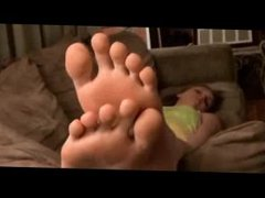 Goddess Farrah Skype Foot Show