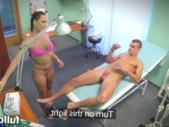 Mea Melone Ripped stud gets the naughty nurses special treatment fh