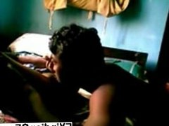 Sexy Indian babe sucking and riding BFs boner