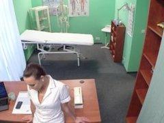 FakeHospital Hot nurse gets a physical