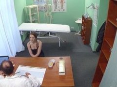 FakeHospital Hot redhead needs medical attention