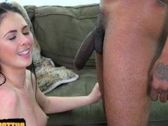 Nice pussy close up fuck