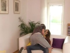 Small tits teen girl pounded by young blond boy