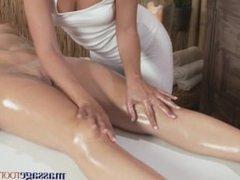 Massage Rooms Soft bodied lesbians explore each others magical G-Spot