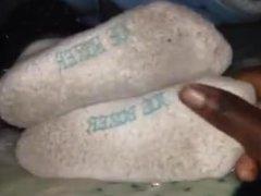 Dirty sock strip and worship