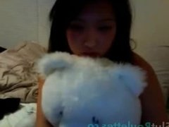Asian web cam babe 03.