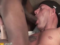 A Big Black Cock for a Big White Guy