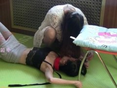 Chinese Queen Black Ice Training Slave
