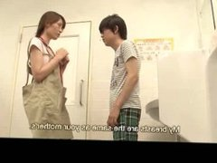 Librarian Seduced by Horny Teenager - JAV with English Subtitles