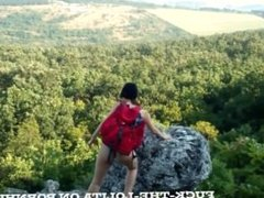 Hiking teen has great fuck in the forest (Trailer) full vid coming soon :)