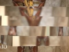 ass shakin in shower