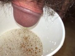 Piss in a cup!