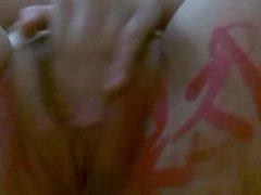 asian girl cam body doodle masturbation