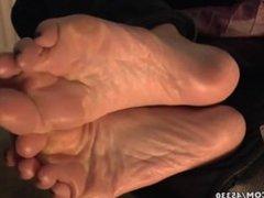 Cute British Girl´s Rough Heels