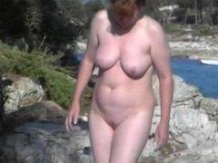 Chun from dates25.com - Nude beach redhead mature
