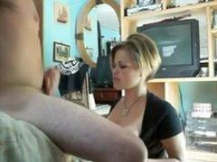 Big tit milf blowjob stroke. Teisha from dates25.com