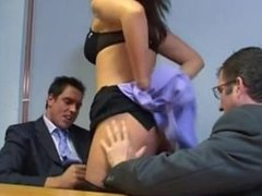 JBerry anal 3some office