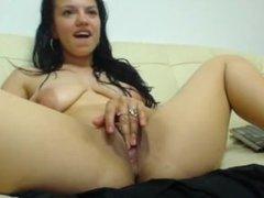 Cam Model Lexi Black Masturbating #2