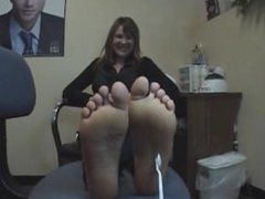 Tory's Ticklish Size 7's