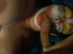 Delsie from dates25.com - Dildo sucking clown bbw