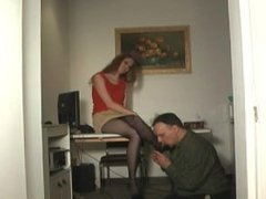 Ava's Interview with a Submissive Boss