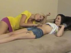 Charlee Licks 's Belly Button
