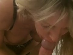 Milf wife perfect blowjob. Danette from dates25.com
