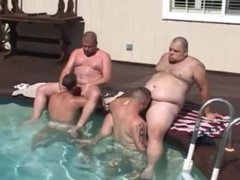 bears pool party