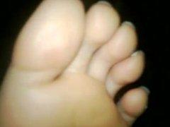 Sleepy toe Sucking