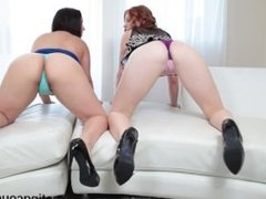 CastingCouch-HD Lexi and Lucia suck and fucked a big black dick