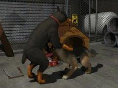 2 Dogs- Animated Yiff
