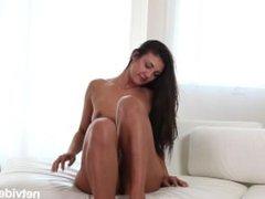 NetVideoGirls - Mina returns to suck some dick on camera