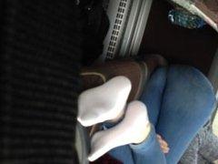 Girl in bus feet ass german. Eleonor from dates25.com