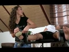Tickling Girls Feet Compilation