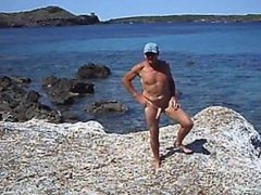 I love my walks to the beach naked of course