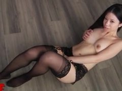 Asian Chick Stretched 1