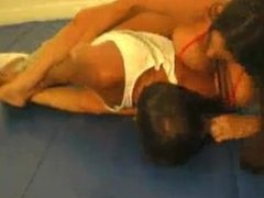 Grapple & breast smother