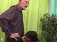 Elfriede from dates25.com - Anal casting of a skinny mature in