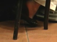 Candid Carefree Feet 2 scenes Faceshots in both
