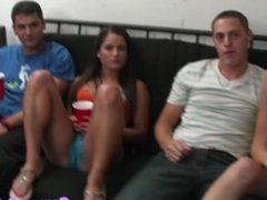 Cocksucking college teens make a little video