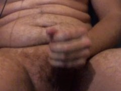 solo masturbation with cumshot