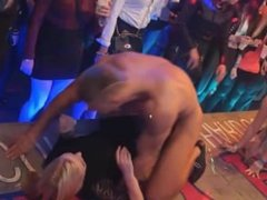 Teen Sluts Go Crazy For Cock At CFNM Party